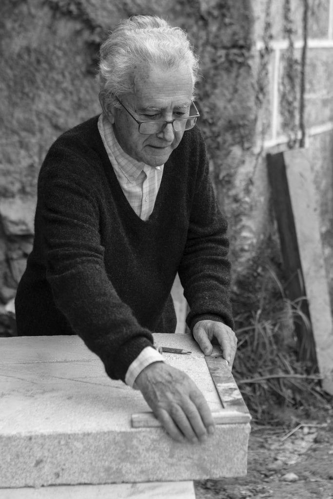 Manuel Gallego working