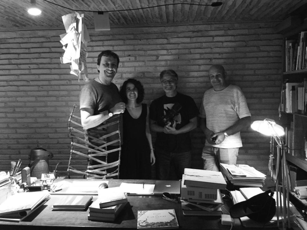 ARCHIVES 6 Architects and editors in GA, Asuncion, Paraguay