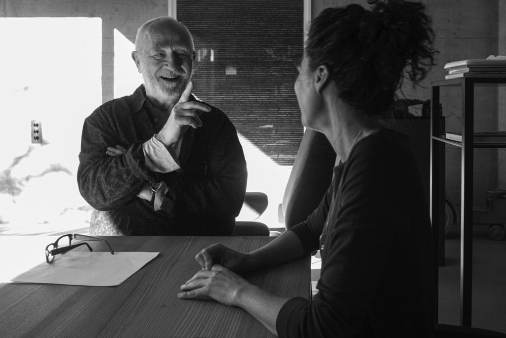 ARCHIVES 6 P Zumthor interviewing Gloria Cabral