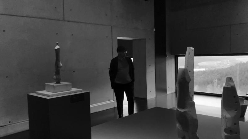 ARCHIVES 7, F. Mangado visiting Oteiza Museum 04
