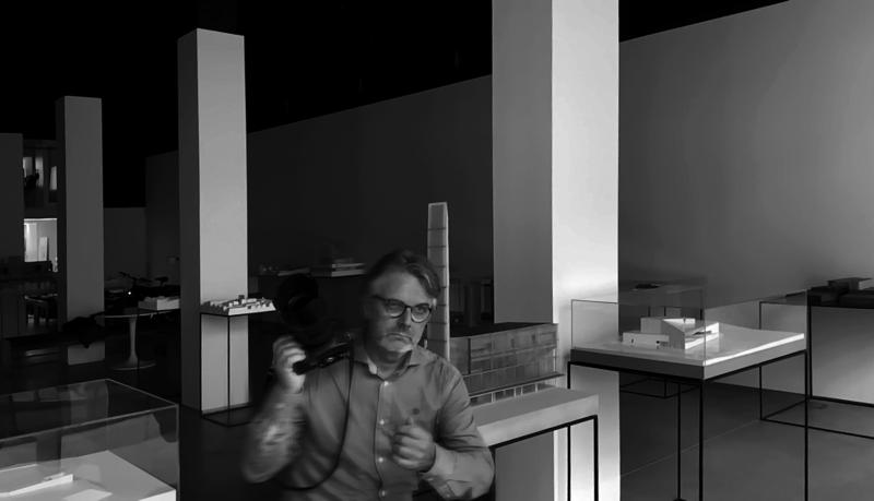 ARCHIVES 7, Juan Rodriguez working on Mangado´s models